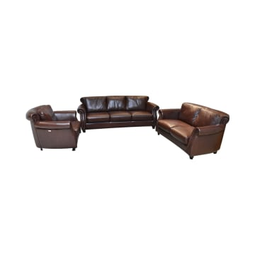 M&D PUSIANO SET SOFA - COKELAT_1