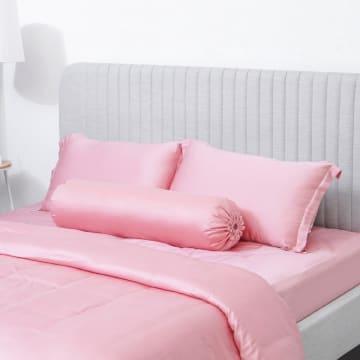 FIORE SARUNG BANTAL TENCEL SHAM 50X75CM - PINK_3