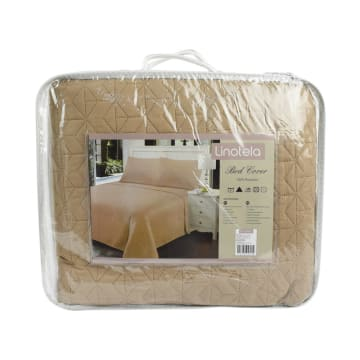 BED COVER TWISTY 210X210 CM - TAUPE_3