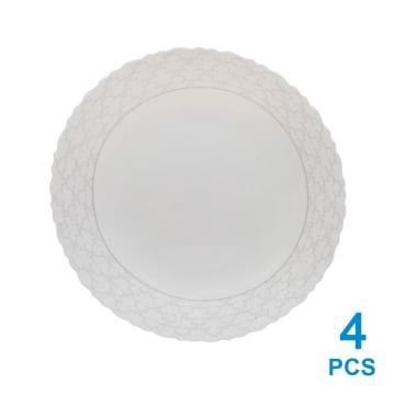 APPETITE AZALEA SET PERALATAN MAKAN 12 PCS - PUTIH_2