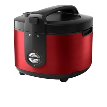 PHILIPS RICE COOKER STAINLESS PRO CERAMIC + HD3132 - HITAM_3