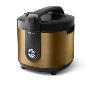 PHILIPS RICE COOKER STAINLESS PRO CERAMIC + HD3132 - HITAM_4