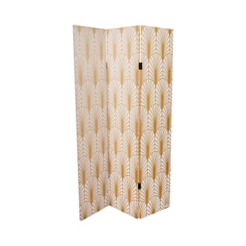 PARTISI KLASIK 3 PANEL 180X120 CM - GOLDEN KREM_2