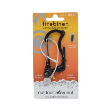 FIREBINER KARABINER FLINT - HITAM_1