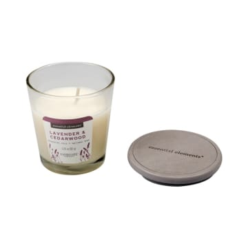 CANDLE LITE LAVENDER AND CEDARWOOD LILIN AROMATERAPI 92 GR_2