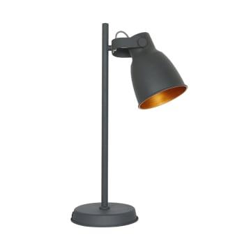 EGLARE RETRO LAMPU MEJA - HITAM_1