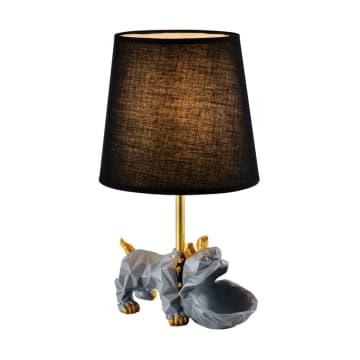 EGLARE LAMPU MEJA BULLDOG - ABU-ABU_1