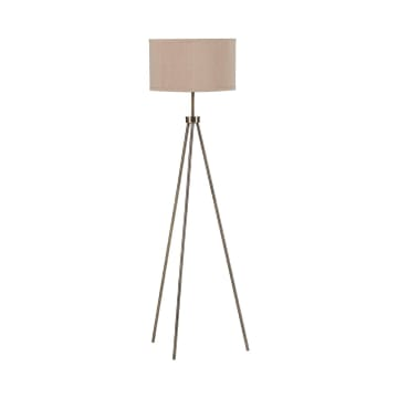 EGLARE TRIPOD LAMPU LANTAI - ANTIQUE BRASS_1