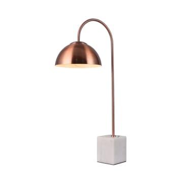 EGLARE ARKI LAMPU MEJA - MERAH BRONZE_1