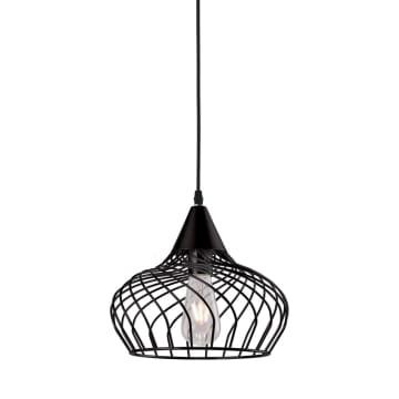 EGLARE LAMPU GANTUNG HIAS DOME CAGE - HITAM_1