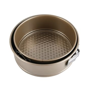 COOKING COLOR LOYANG KUE SPRINGFORM BULAT - GOLD_1