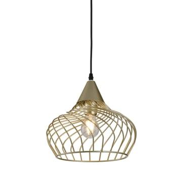 EGLARE LAMPU GANTUNG HIAS DOME CAGE 29 CM - GOLD_1