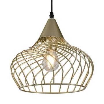 EGLARE LAMPU GANTUNG HIAS DOME CAGE 29 CM - GOLD_2