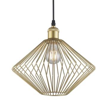 EGLARE LAMPU GANTUNG HIAS LAMPION SANGKAR - GOLD_1