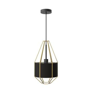 EGLARE VALETTY LAMPU GANTUNG HIAS - HITAM_1