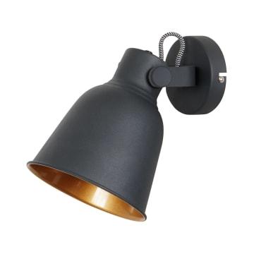 EGLARE RETRO LAMPU DINDING - HITAM_1