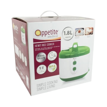 APPETITE ELECTRICAL HEWIT RICE COOKER 1.8 LTR - HIJAU_3