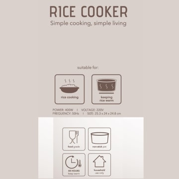 APPETITE ELECTRICAL HUBERT RICE COOKER 1.2 LTR_3