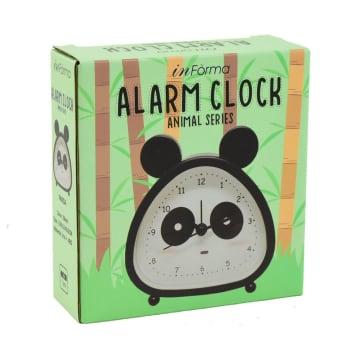 JAM ALARM PANDA BLOCK  - HITAM_3