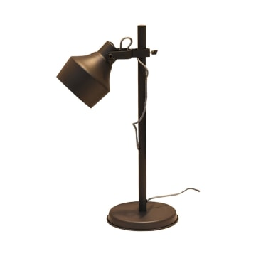 GIANO LAMPU MEJA METAL 37X23X62CM - HITAM_2