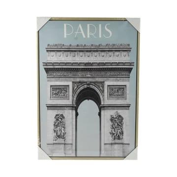 HIASAN DINDING KANVAS PARIS 50X70X4 CM_1