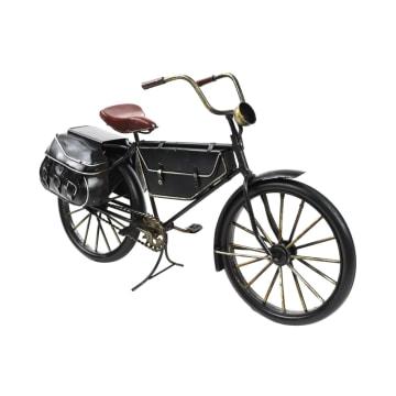 MINIATUR DEKORASI BICYCLE E01 31X10X18 CM - HITAM_1