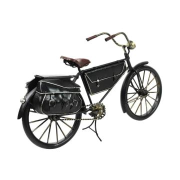 MINIATUR DEKORASI BICYCLE E01 31X10X18 CM - HITAM_3