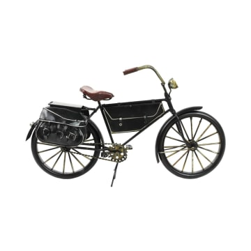 MINIATUR DEKORASI BICYCLE E01 31X10X18 CM - HITAM_2