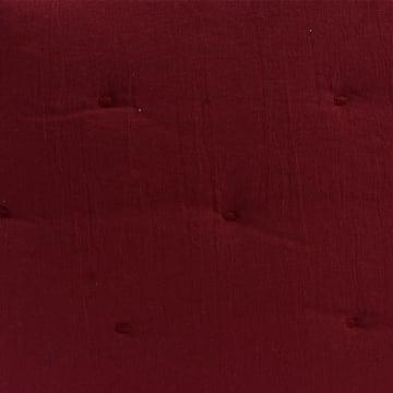 BED COVER DOT STITCH 210X210 CM - MERAH_2