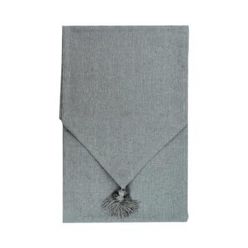 TABLE RUNNER GLITTER - SILVER_1