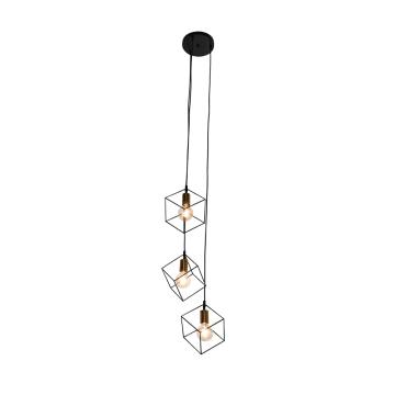 NORA LAMPU GANTUNG HIAS 3L - HITAM_1