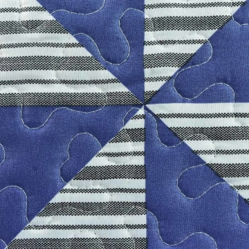 LINOTELA BED COVER NT757 240X210 CM - BIRU NAVY_2