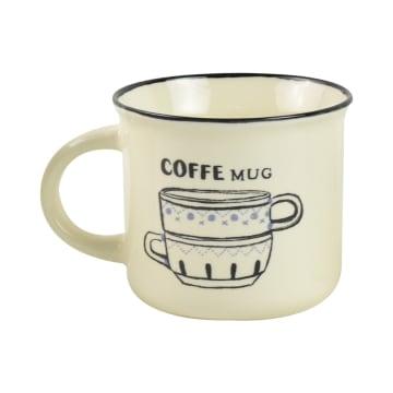 DELIZIOSO SET MUG CAFE COFFEE 4 PCS_3