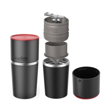 CAFFLANO KLASSIC COFFEE MAKER ALL IN ONE - HITAM_1
