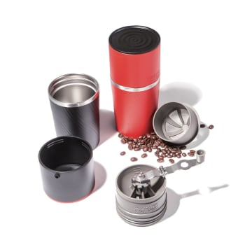 CAFFLANO KLASSIC COFFEE MAKER ALL IN ONE - HITAM_7