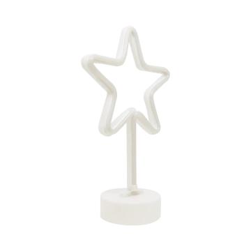 ARTHOME LAMPU MEJA DEKORASI STAR 19X30.5 CM_2