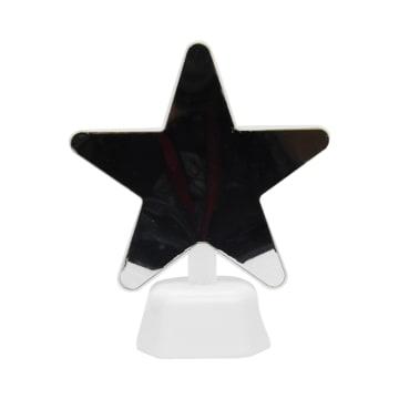 ARTHOME LAMPU MEJA DEKORASI PERMUKAAN CERMIN STAR 15.5X19 CM_1