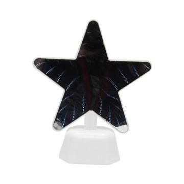 ARTHOME LAMPU MEJA DEKORASI PERMUKAAN CERMIN STAR 15.5X19 CM_3