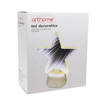 ARTHOME LAMPU MEJA DEKORASI PERMUKAAN CERMIN STAR 15.5X19 CM_4