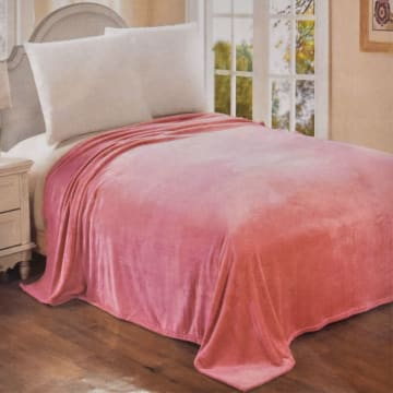 ARTHOME SELIMUT FLANEL 210X210 CM - PINK_1