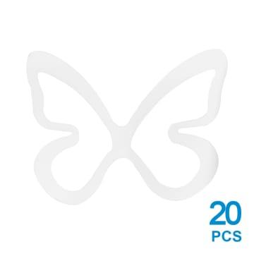 UMBRA SET HIASAN DINDING KUPU-KUPU 20 PCS - PUTIH_2