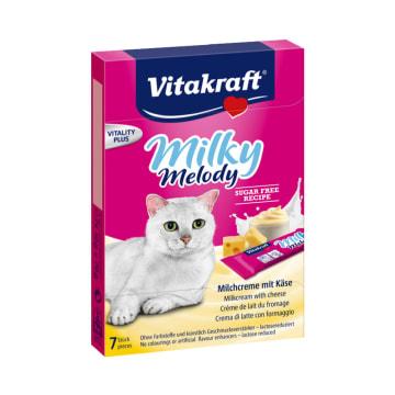 VITAKRAFT CAMILAN KUCING MILKY MELODY CHEESE 70 GR_1