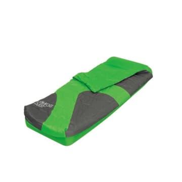 BESTWAY KASUR ANGIN ASLEPA INFLATABLE BED WITH SLEEPING BAG - HIJAU_2