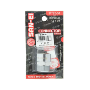 SAN-EI BUSHING 1/2X3/4 INC PT25-51_2