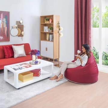 BEAN BAG 90X105 CM - MAROON_3
