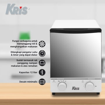KRIS OVEN VERTICAL TOASTER 12 LTR 800W_4