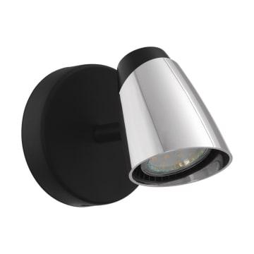 EGLO MONCALVIO LAMPU SOROT LED - HITAM_1