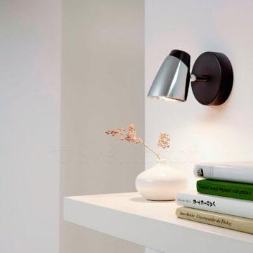 EGLO MONCALVIO LAMPU SOROT LED - HITAM_2