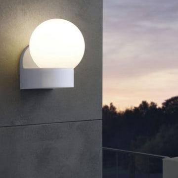 EGLO LORMES LAMPU DINDING - HITAM_2