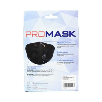 PROMASK SET MASKER MOTOR MESH DAN FILTER N95 - MERAH_4
